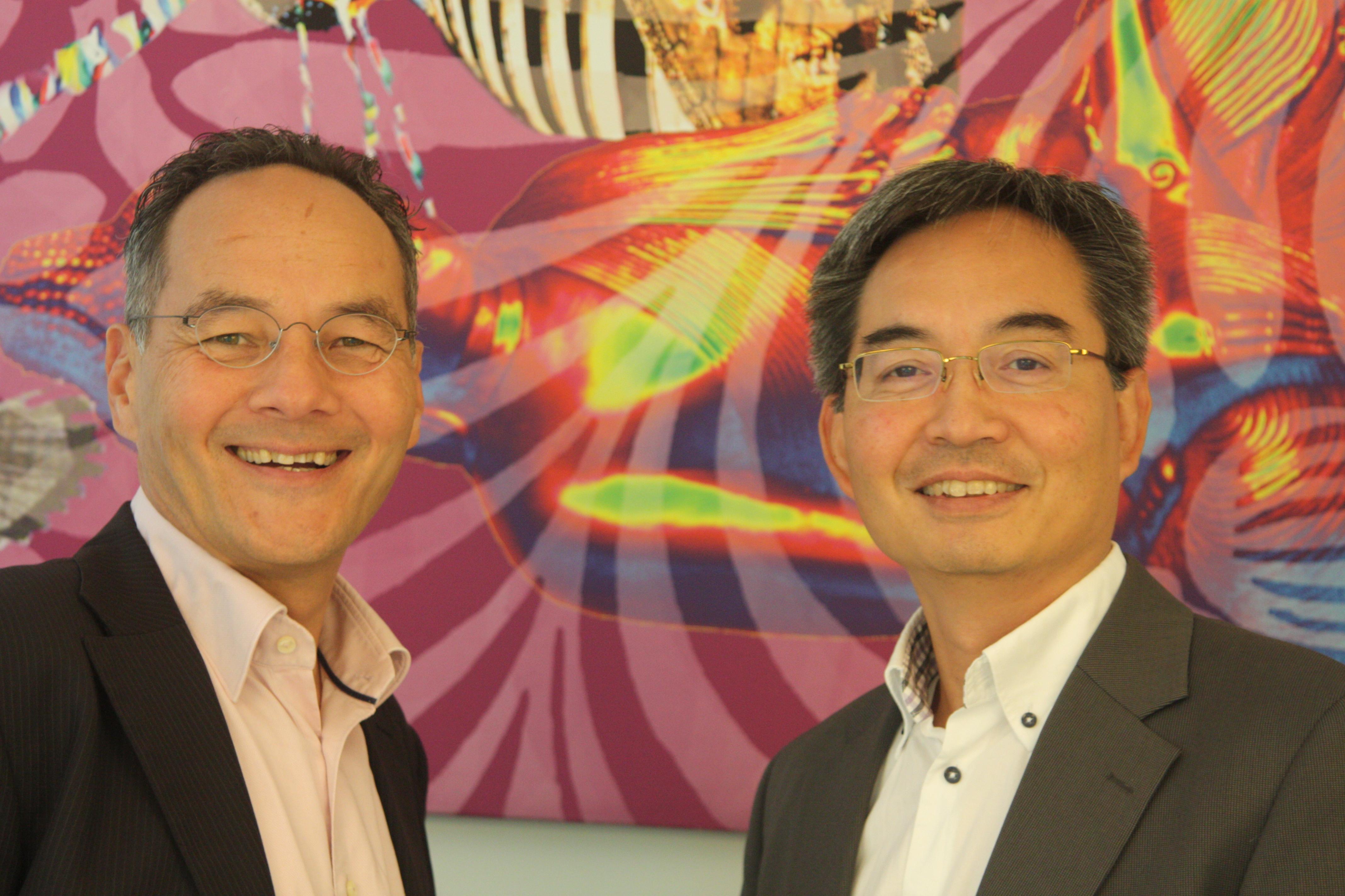 Nieuw lid: Tjwan Oei en Houwke Ong
