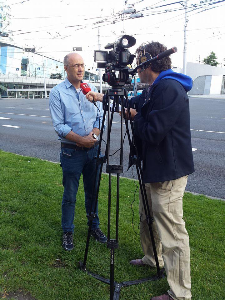 Frank geinterviewd door RTV Arnhem
