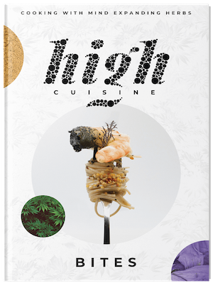 High cuisine Bites - book front cover